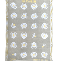 Towel Daisy Light-grey