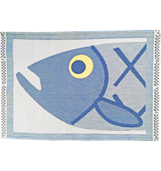 Table mat Fish Head