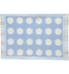 Table mat Daisy Light-blue