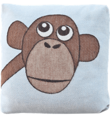 Cushion 30 cm Monkey Blue