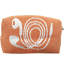 Toilet bag 8cm Cords Orange