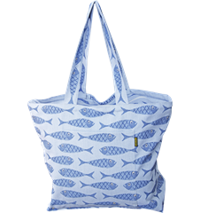 Beach bag Fish