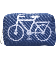 8cm Bicycle Blue
