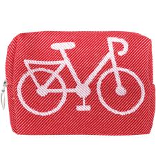 Toilet bag 12cm Bicycle Red