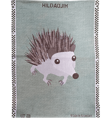 Towel Hedgehog Green