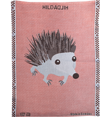 Towel Hedgehog Rusty Red