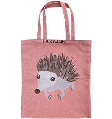 Tote bag Small Hedgehog Rusty red