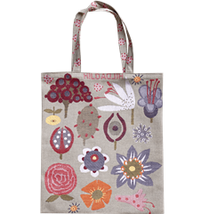 Tote bag Small Flowers Small