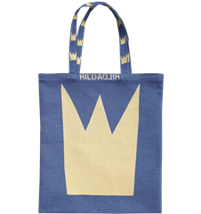 Tote bag Small Crowns