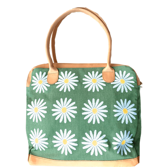 Handbag Daisy Green