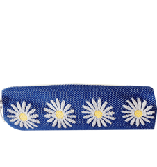 Pencil case Daisy Blue