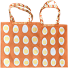 Tote bag Small Egg Orange