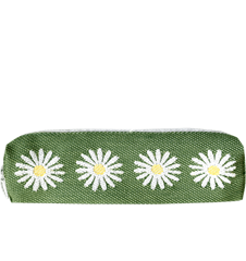Pencil case Daisy Green