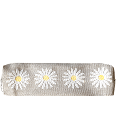 Pencil case Daisy Light-grey