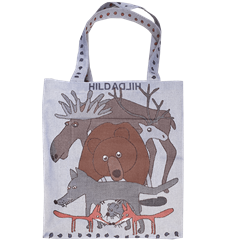 Tote bag Large Swedish animals