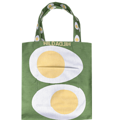 Tote bag Egg Green