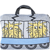 Train cushion/bag Lion Elephant Pink
