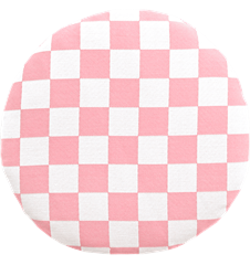 Seat cushion Checkered Pink