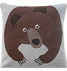 Cushion cover 45x45 Bear