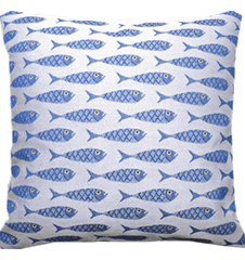Cushion cover 45 cm Fish Mini