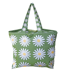 Beach bag Daisy Green