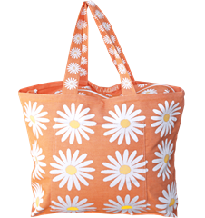 Beach bag Daisy Orange