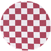 Seat cushion Checkered  Bordeaux