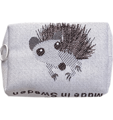 Toilet bag 12cm Hedgehog White