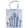 Tote bag Small Cat Blue