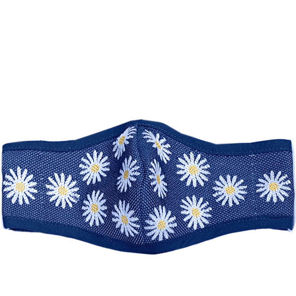 Mask Daisy Blue