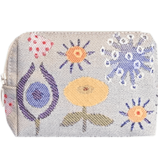 Toilet bag 12cm Flowers Small