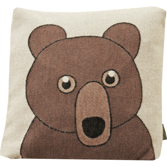 Cushion cover 30x30 Bear