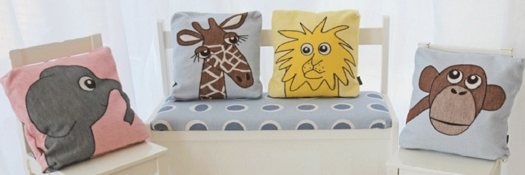 Cushion covers 30x30cm